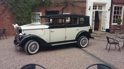 shrewsbury wedding car hire