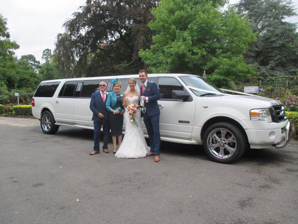 limo wedding hire