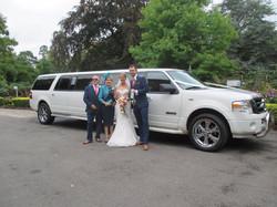 limo wedding hire