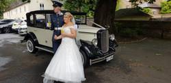 Wedding car hire telford.