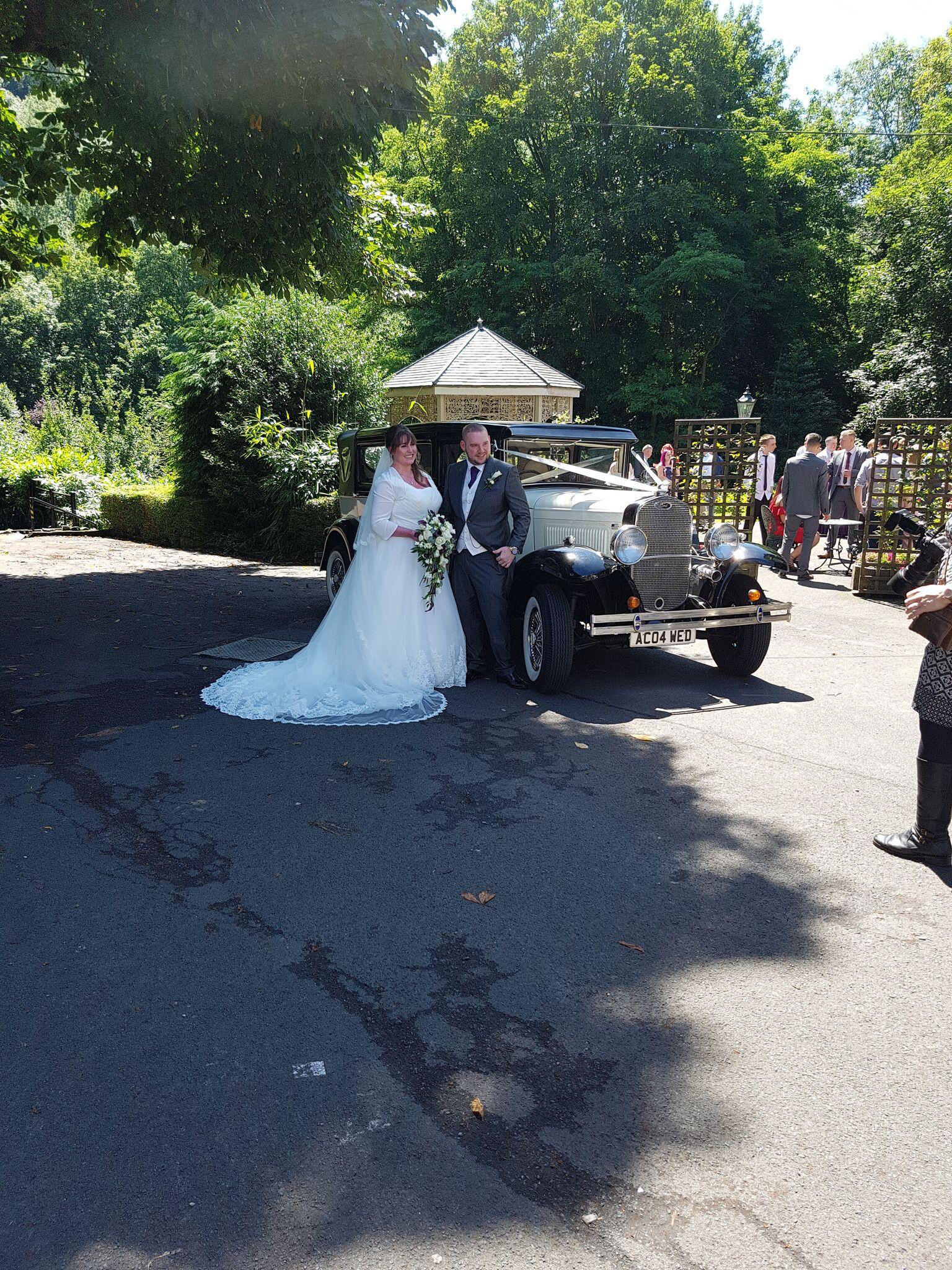 wedding limousine hire shropshire