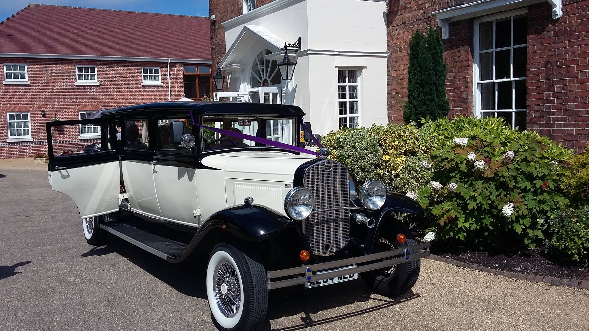 Hadley Park House Wedding Transport