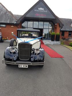 The best wedding cars.
