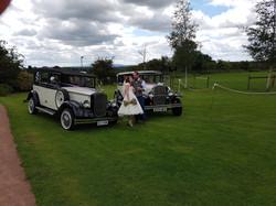 Matching wedding fleet