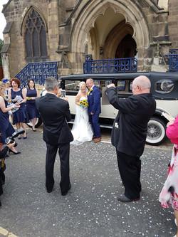 Lovely wedding venue transport