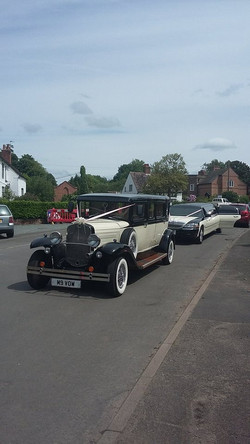 Wedding car hire fleet shropshire.