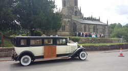 Church wedding car hire