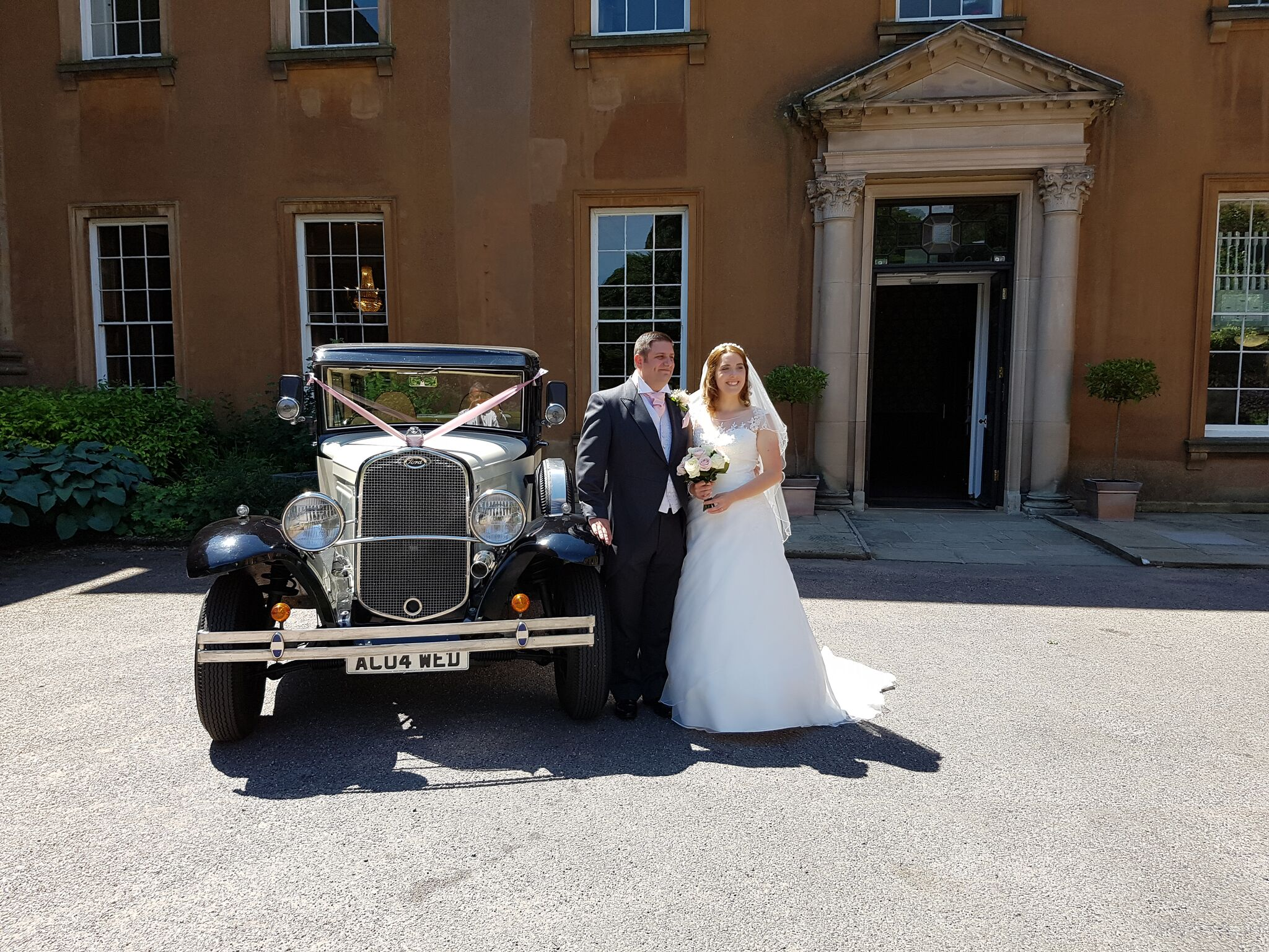 Top wedding transport in shropshire