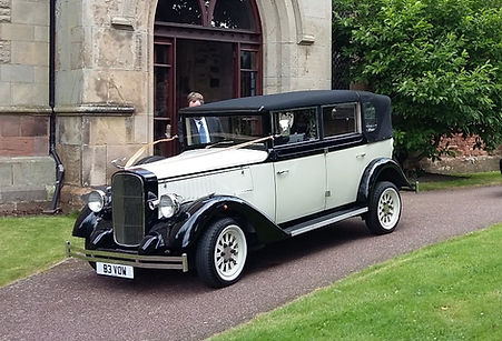 Wedding car hire, vintage wedding car, wedding cars, hire wedding car