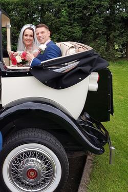 Soft Top Wedding Cars.