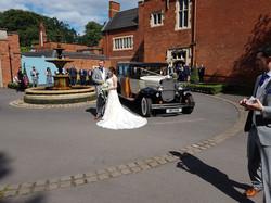 Madley wedding car hire.