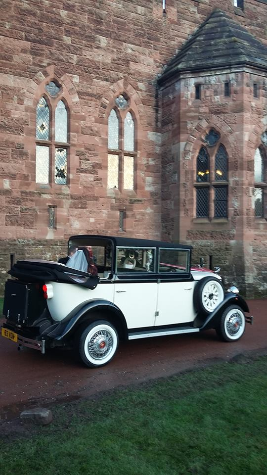 Church wedding car hire service UK.