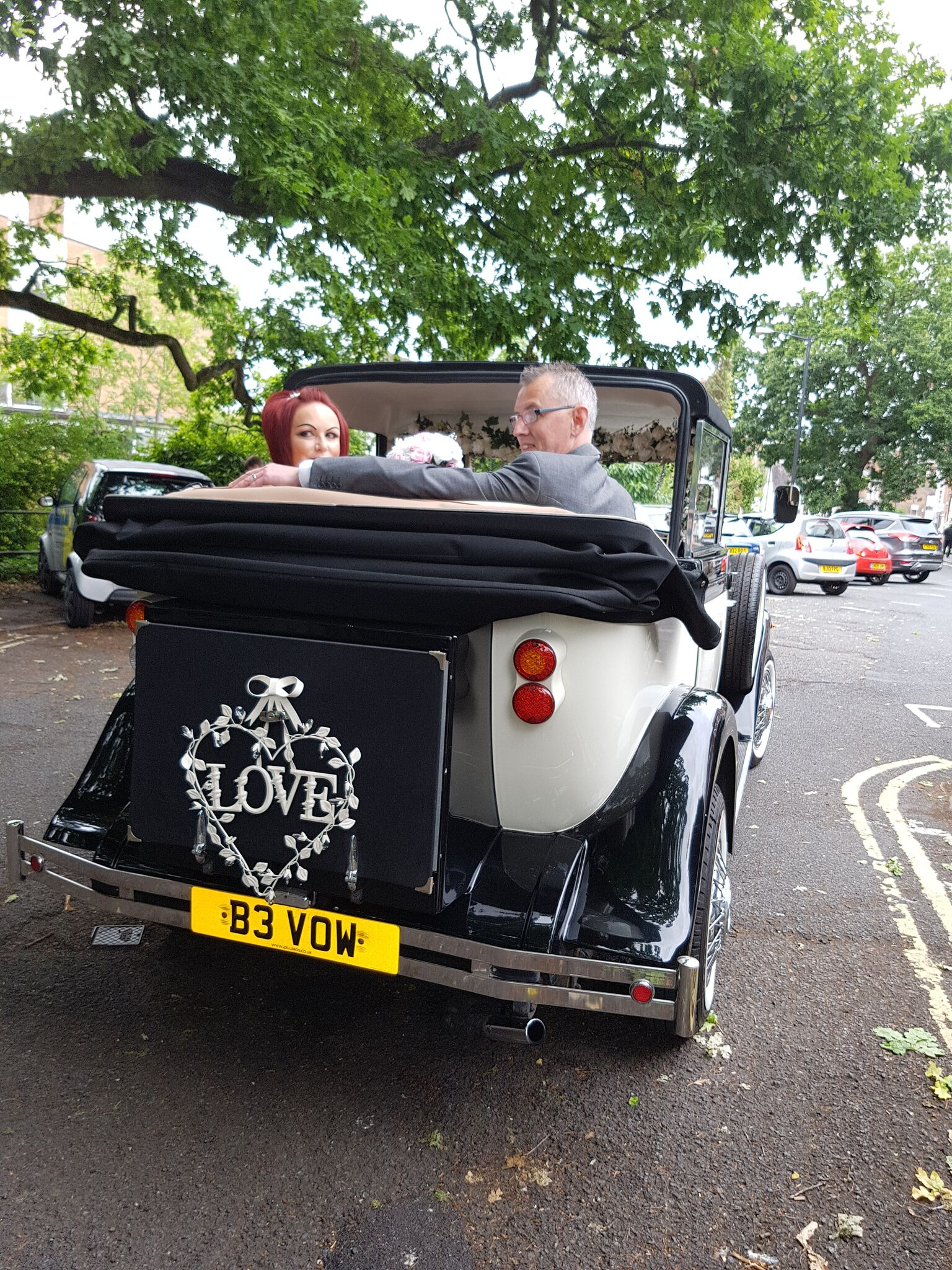 The best shots of wedding transport