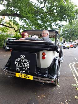 The best shots of wedding transport