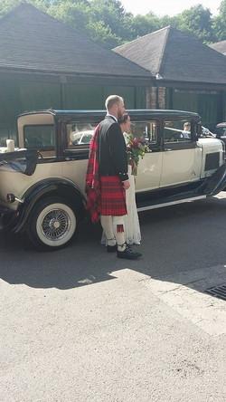 Nation Wedding car hire
