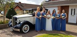 Brides maids car.