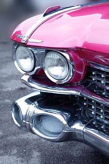 1959 Pink Cadillac, Cadillac Hire, Pink, Car Hire, Telford