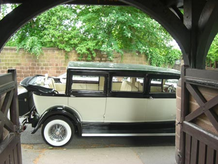wedding car hire bridgnorth