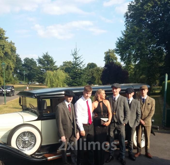 Peaky blinders prom car hire