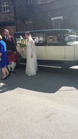 Wedding guests transport