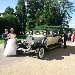 Fully licensed, insured wedding car