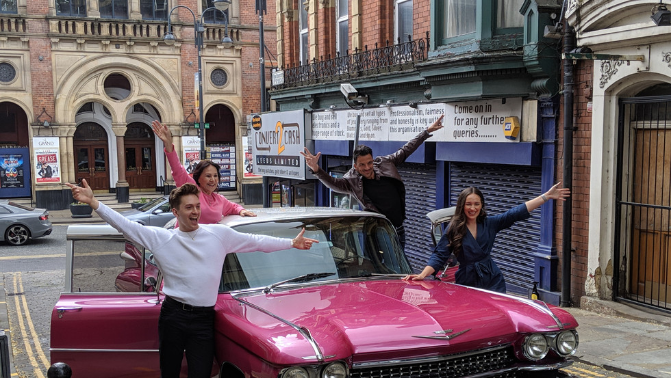 All new acts for the grease the musical.