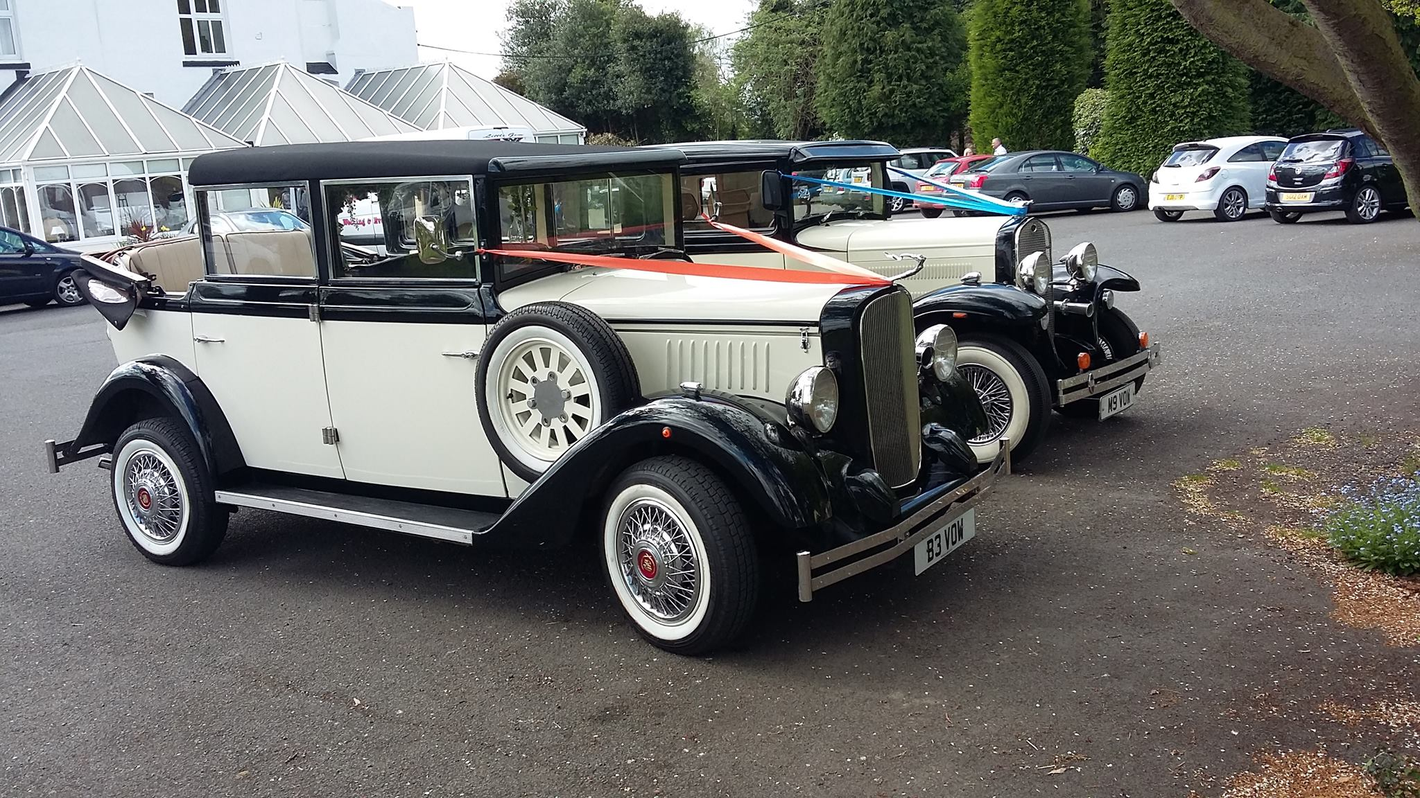 Wedding cars telford.