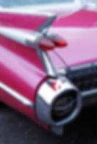 1959 Cadillac, Cadillac Hire, Pink Cadilac Hire, Limousine Hire Midlands, Shropshire, Cadillac Hire Birmingham