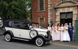 Wedding Car For Bridesmaids