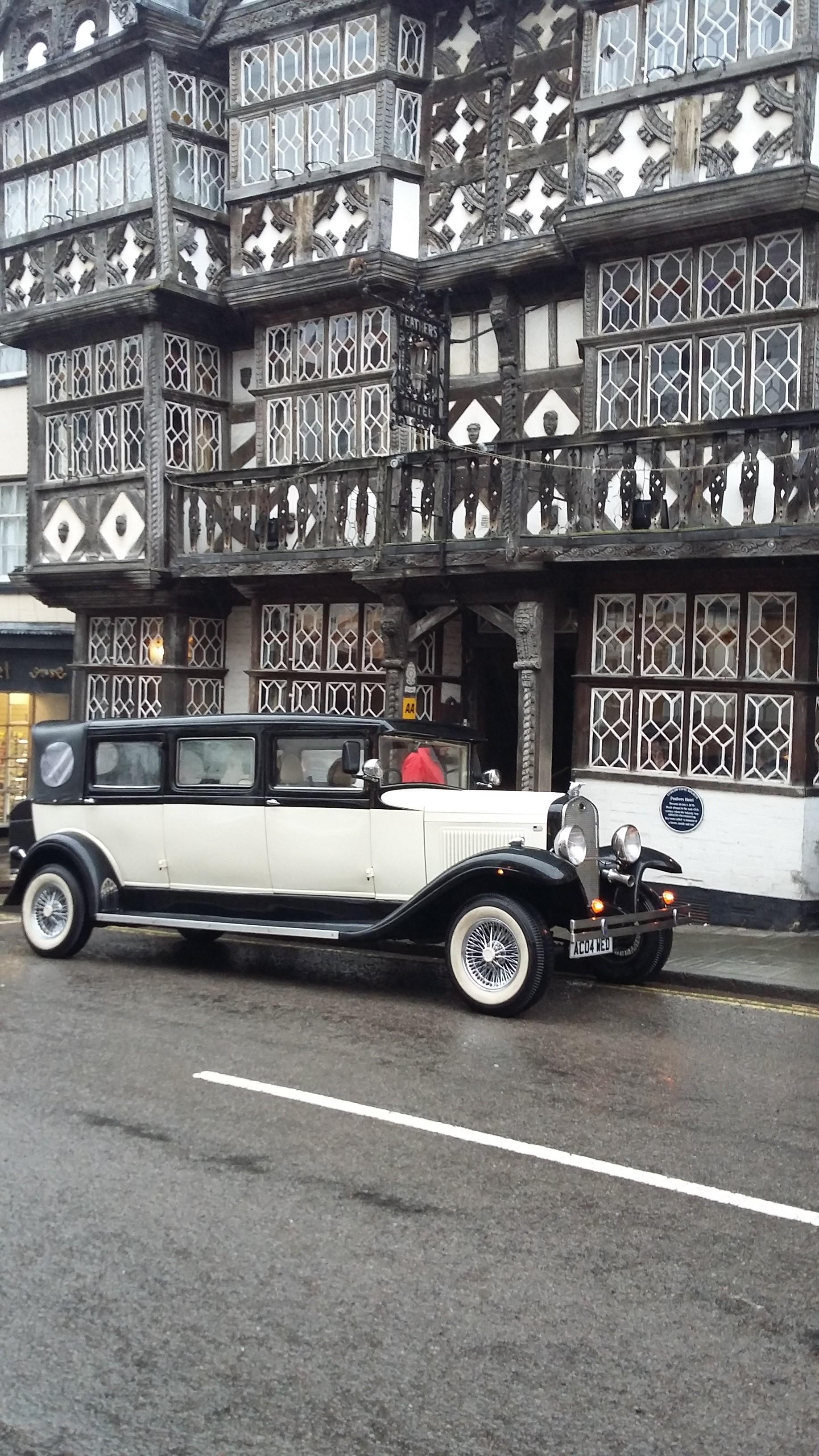 shropshire wedding car hire