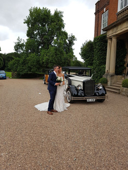 Country side wedding car hire.