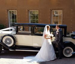 Dudley wedding car hire.