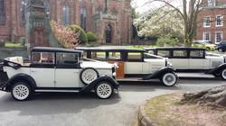 wedding car hire shropshire fleet