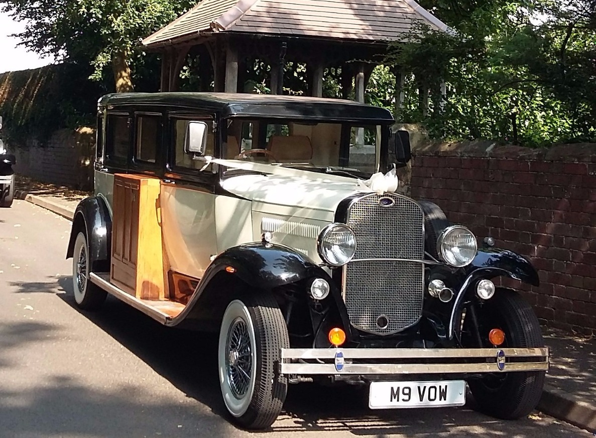 wedding car hire shrewsbury