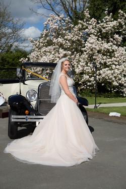wedding car hire stafford