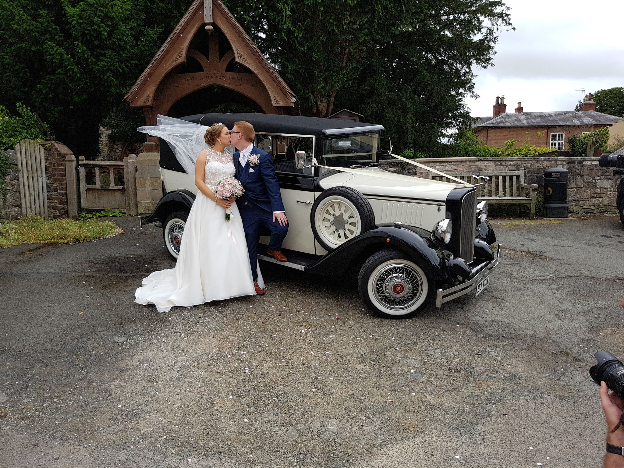 Church wedding car hire
