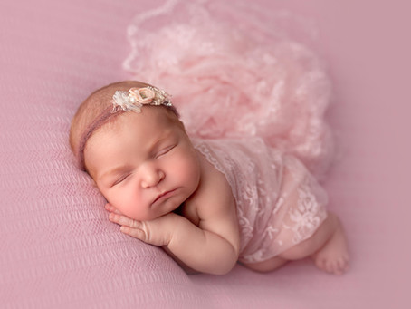 Vivienne's Newborn Session - Syosset Newborn Photographer