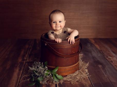 Parker's Milestone Session - Manhasset NY Baby Photographer