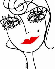 Portraits épurés
