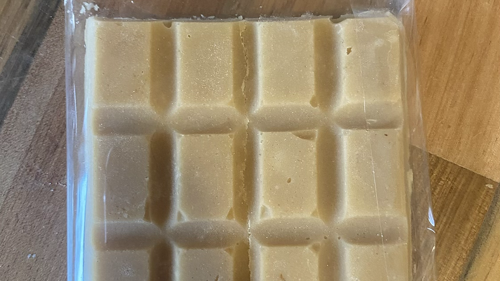 Traditional vanilla bar