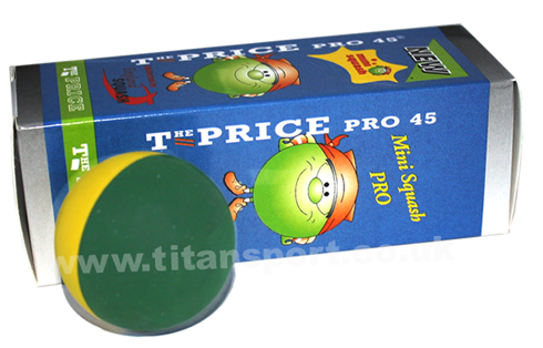 Price mini squash balls - green
