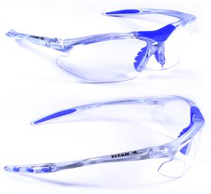 TITAN Raven protective eyewear for squash