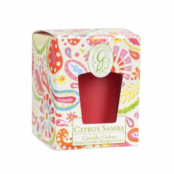 Свеча-Кубик Цитрусовая Самба Greenleaf