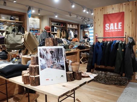 来年の新商品、A&Fカントリー松本店さんにて展示!