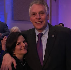 Jen Little Terry McAuliffe Governor