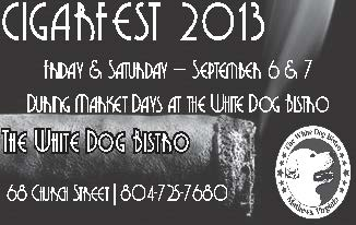 White Dog Bistro Cigar Fest