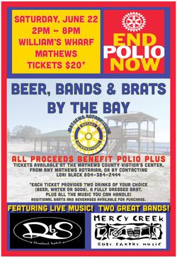 Mathews Rotary Fundraising Poster