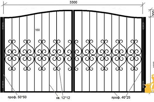 Ворота 035