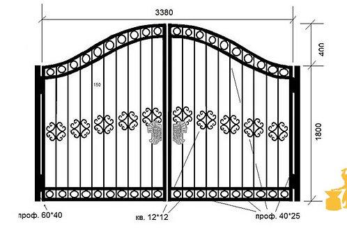 Ворота 021
