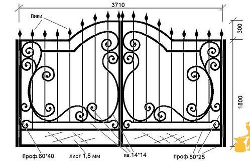 Ворота 027